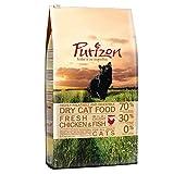Purizon Premium-Trockenfutter für Katzen mit Huhn und Fisch (6,5 kg)